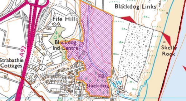 Kirkwood Homes is planning to build 284 homes at Blackdog.