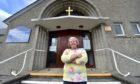 Rev Susan Sutherland, outside Mastrick Parish Church.  Picture by Scott Baxter    16/07/2020