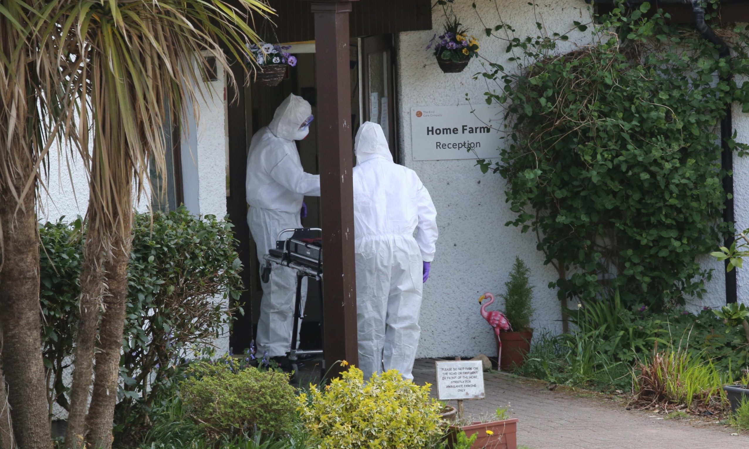 Ten people died at Home Farm care home on the Isle of Skye.