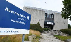 Aberdeenshire Council HQ, Woodhill House, Aberdeen.