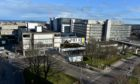 Aberdeen Royal Infirmary's emergency department is described as being 'extremely busy'. Picture by Kenny Elrick