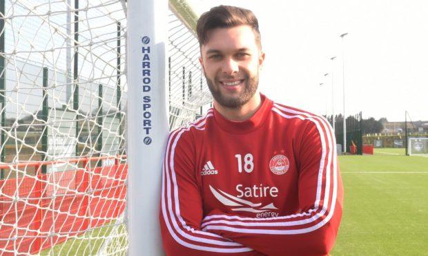Aberdeen winger Connor McLennan