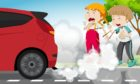Aberdeen Cycle Forum have a launched a competition for school children to design a banner encouraging drivers to turn their engines off while idling.