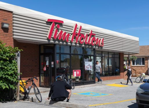 Tim Hortons could open its first north-east restaurant in Aberdeen.