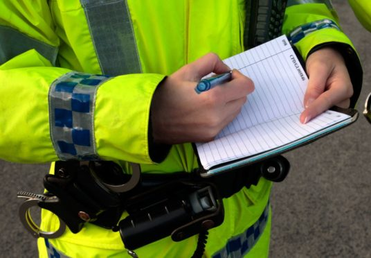 The theft happened on Inverness's Telford Street