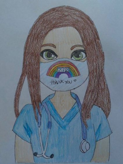 Skye Fraser, 14, Inverness.