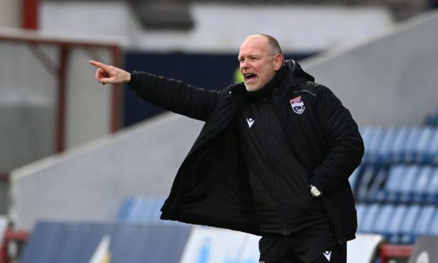 Ross County manager John Hughes