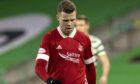 Aberdeen forward Florian Kamberi.