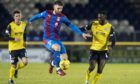 Sean Welsh in action for Caley Thistle.