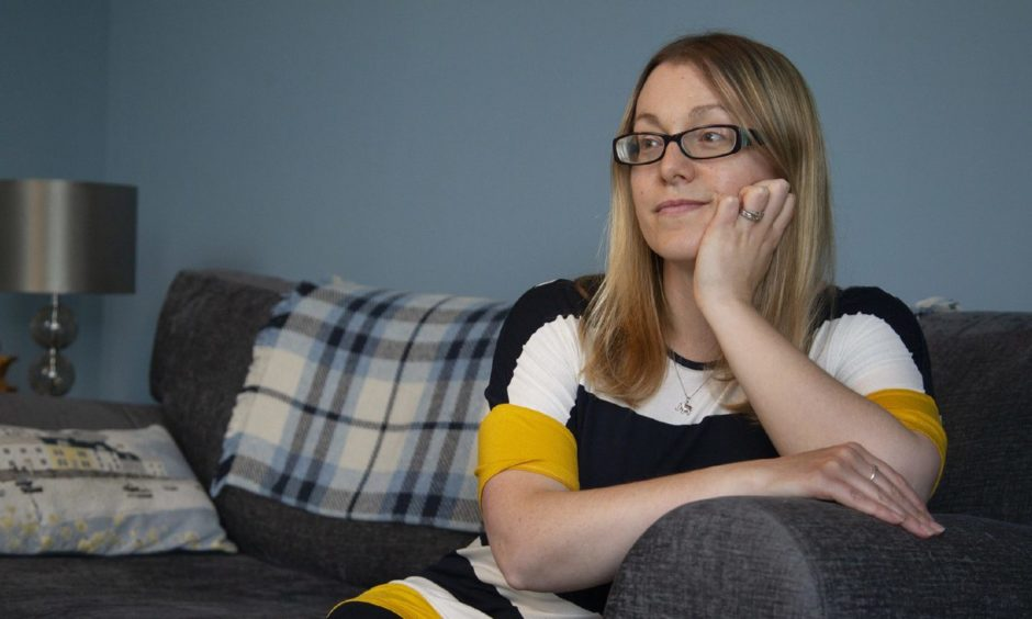 Vicky Chapman suffers from endometriosis.