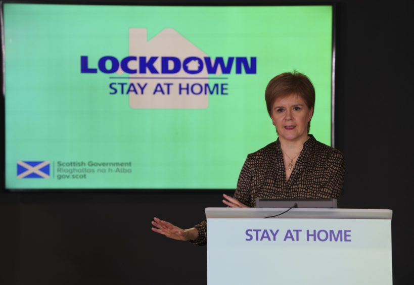 First Minister Nicola Sturgeon announced a change in the levels restrictions system last week