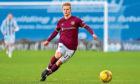 Gary Mackay-Steven of Heart of Midlothian FC.