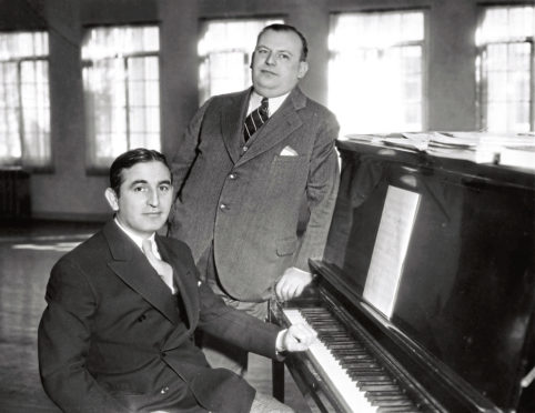 ON SONG: Harry Warren and Al Dubin wrote I Only Have Eyes For You for a largely forgotten Busby Berkeley film in 1934.