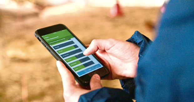 New app helps farmers to understand their animals' emotional state.