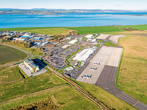 Four options are available to Inverness Airport as part of the terminal expansion project