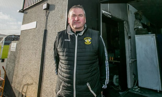 Clach chairman Alex Chisholm says the club is ready to welcome fans back at Grant Street, hopefully in July.