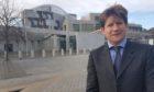 Alexander Burnett has raised concerns over the lack of specialist long Covid clinics across Scotland.