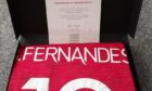 Manchester United have donated a series of items to help the ARI staff garden appeal.