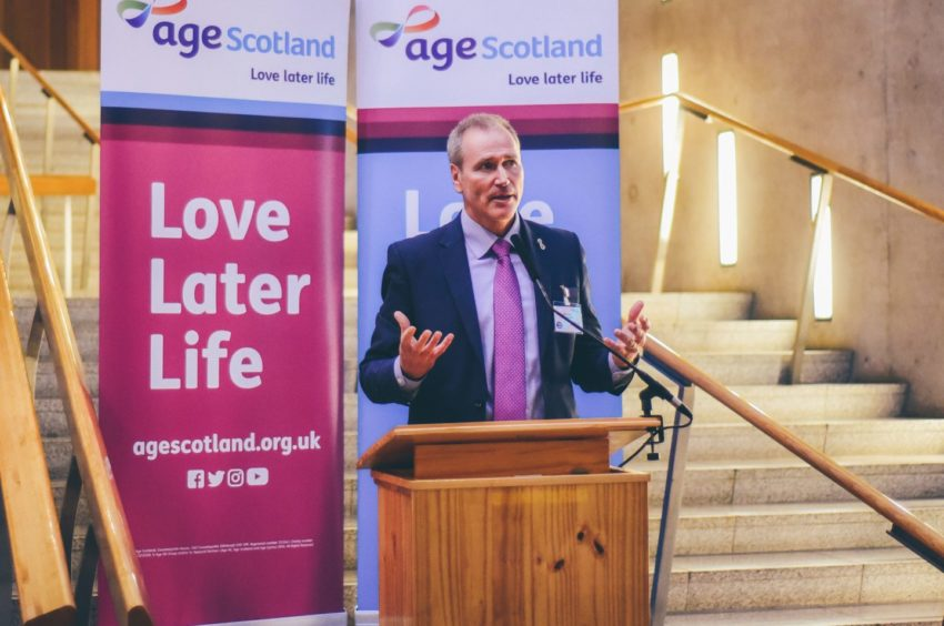 Age Scotland chief executive Brian Sloan is calling for an action plan to address the needs of older people coming out of lockdown