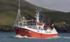 The fisherman fell overboard from the trawler Copious.