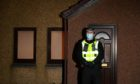 Police were called to a house on Allison Close, Cove last week after a woman's body was found. Picture: Kenny Elrick