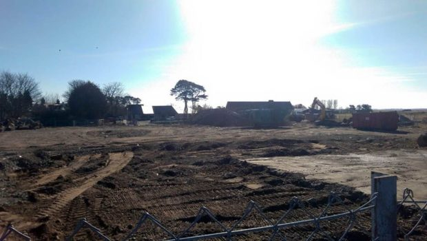 The derelict Dornoch South site is to become a car, coach and motorhome park
