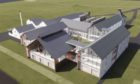 Artist's impression of the new distillery planned for Islay