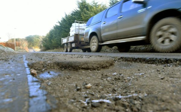 The condition of Moray's roads has now improved.