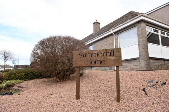 Summerhill Care Home, Summerhill Road, Aberdeen.