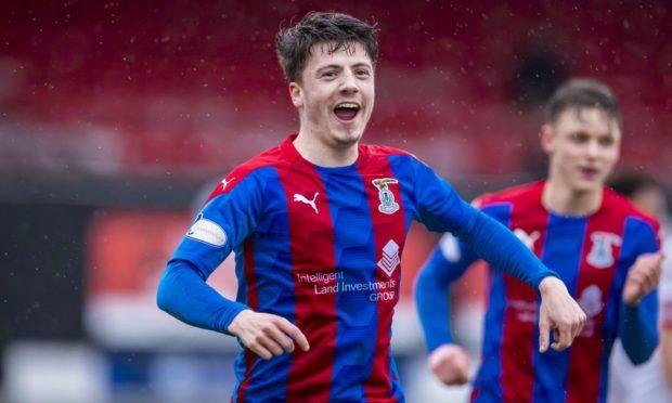 Daniel MacKay celebrates scoring against Ayr.