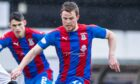 Scott Allardice has held down his place in the Caley Thistle midfield.
