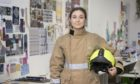 Former Gordonstoun pupil Flora Johnston says her experience at the private Moray school led to her interest in becoming a retained firefighter.