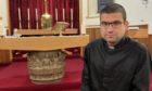 Father Stan Pamula at Morar.