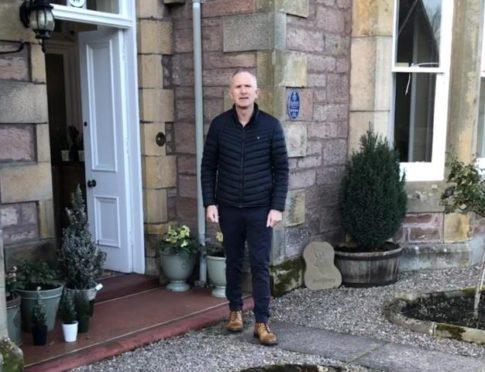 Fraser Mathieson of Ballifeary Guest House in Inverness.