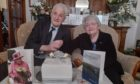 Sandy and Jean Thom celebrate their 70th wedding anniversary.
