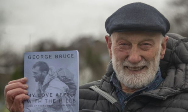 George Bruce was a member of Lochaber Mountain Rescue team for 37 years.