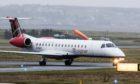 A Loganair flight declared an emergency