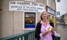 Lorraine Watson, owner of The Carron Fish Bar.