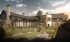 Artist's impression of the £30million five-star 'Lucullan' hotel at Inchmarlo near Banchory.