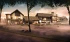 Artist's impression of 'The Lucullan' hotel.