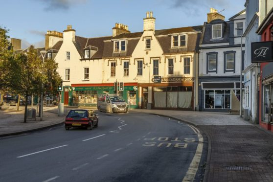 Buses in Stornoway have been cut back today due to a Covid case