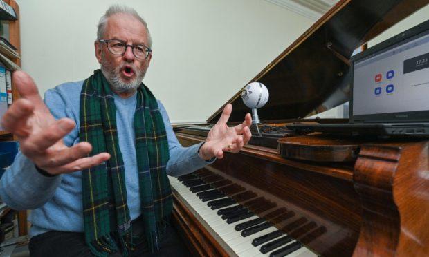 Bill Henderson of The Forres Big Choir