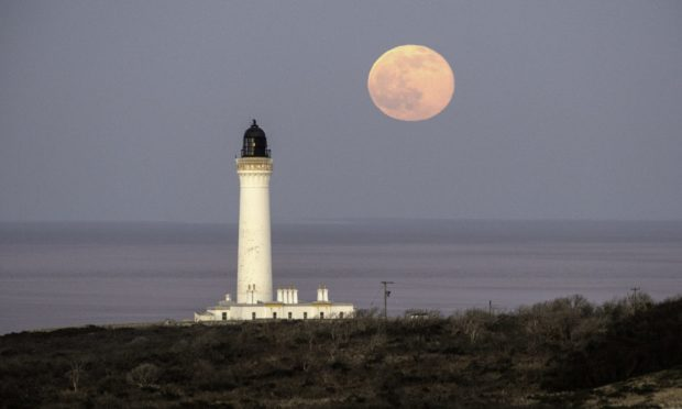 Pictures by JASON HEDGES     28.02.2021 URN:Non issued The second full moon in 2021 is pictured on Saturday evening 27.02.2021  sky-gazers looked upon the final full moon of the winter. February's full moon is also known as the Snow Moon in marking the beginning of spring Pictures by JASON HEDGES