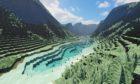 Loch Aan in Minecraft.