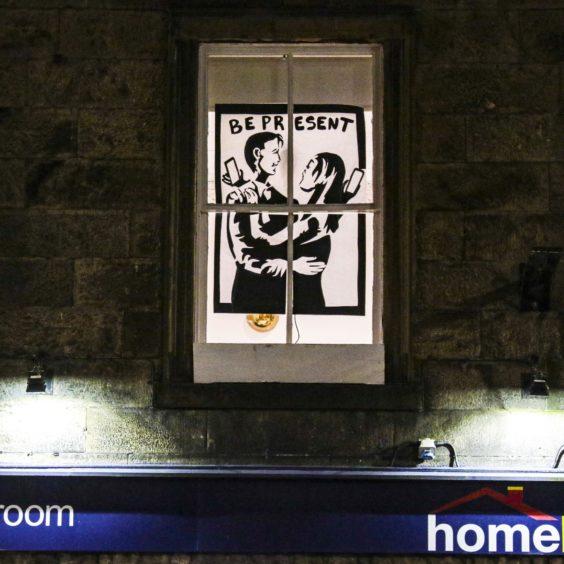 Artwork from the Window Wanderland.