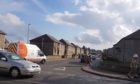 Homes on Moray Road, Fraserburgh were cordoned off following a suspected gas explosion