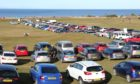 Nairn Beach was busy at the weekend.