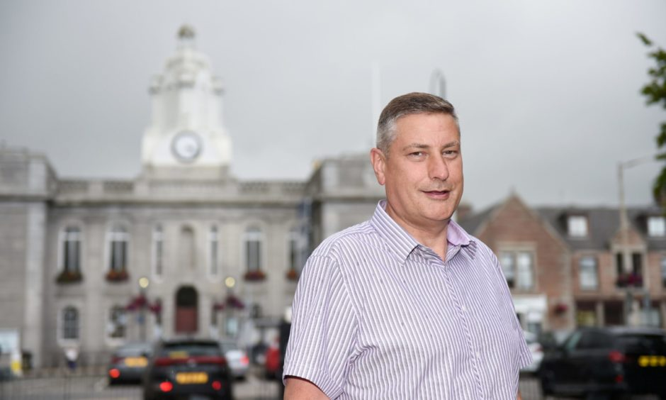 Derek Ritchie, Bid manager in Inverurie, said the roadmap was absolutely disastrous