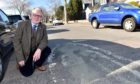 Councillor John Cooke highlighted worn out 20mph signs painted on Angusfield Avenue in April 2019. He wants officers to assess whether more could 20mph zones should be introduced in Aberdeen.