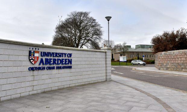 CR0020860  Aberdeen University Campus, Aberdeen University LOCATORS.   Picture by Scott Baxter    09/04/2020